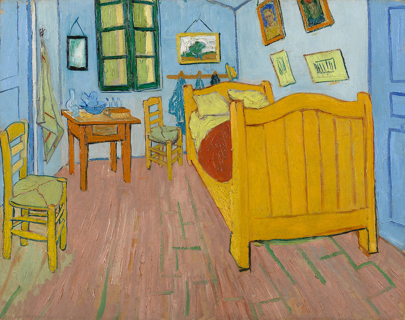 Van Gogh's Bedrooms   About the Paintings