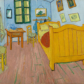 Vincent van Gogh. <em>The Bedroom</em>, 1888. Van Gogh Museum, Amsterdam (Vincent van Gogh Foundation).