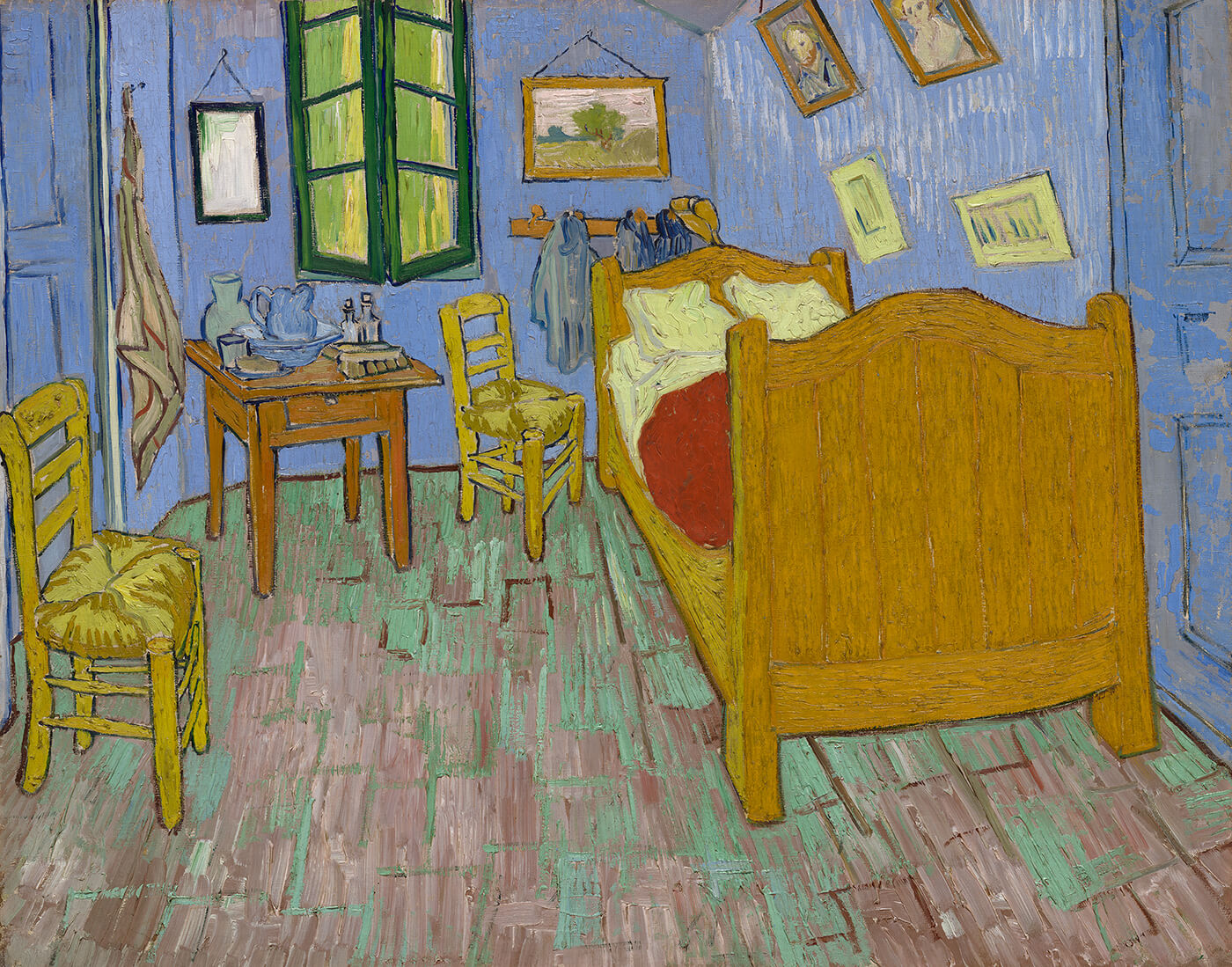 Painting The Bedroom Van Goghs Bedrooms About The Paintings