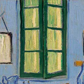 ParisThe Window   Explore the Paintings   Van Gogh s Bedrooms. The Bedroom Van Gogh Painting. Home Design Ideas