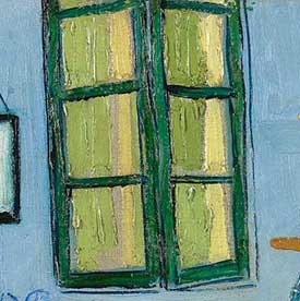 Amsterdam  Vincent van Gogh The Window   Explore the Paintings   Van Gogh s Bedrooms. The Bedroom Van Gogh Painting. Home Design Ideas