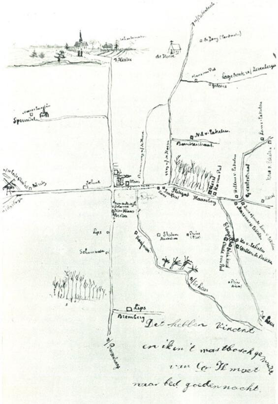 Van Gogh's Nomadic Life Timeline